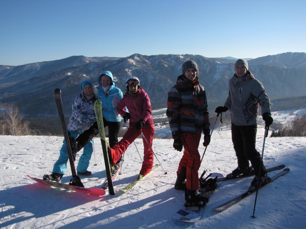 горные лыжи, сноуборд, Алтай, Горный Алтай, Манжерок