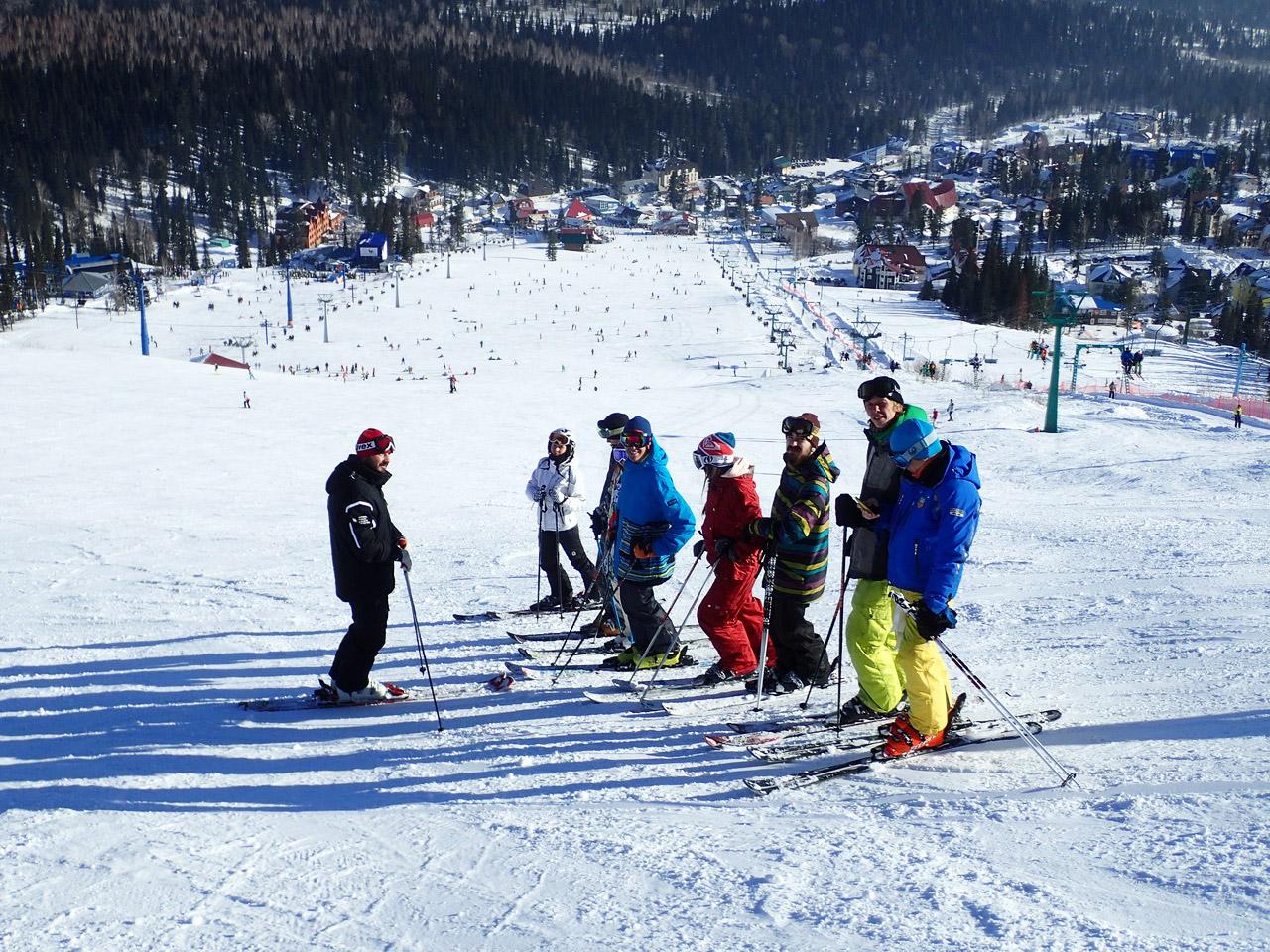 Личный инструктор по горным лыжам и сноуборду