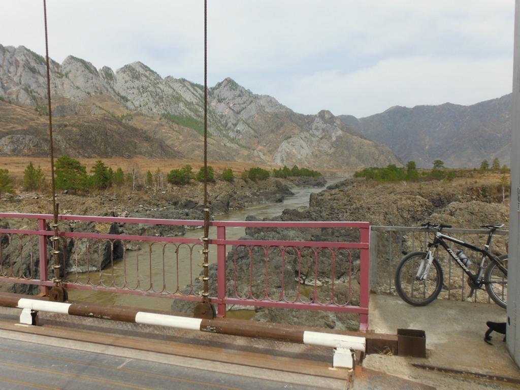 велосипед, велопутешестви, горный алтайе