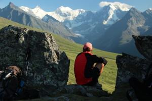 Вид на Белуху Altai