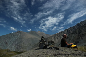 Небо над Аккемом Алтай Altai