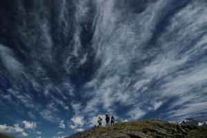 Небо над Белухой Алтай Altai